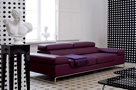 Divani divani in pelle divani angolari divani moderni divani letto - Divano con seduta allungabile ...