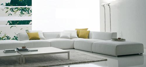 canap en cuir casablanca. Black Bedroom Furniture Sets. Home Design Ideas